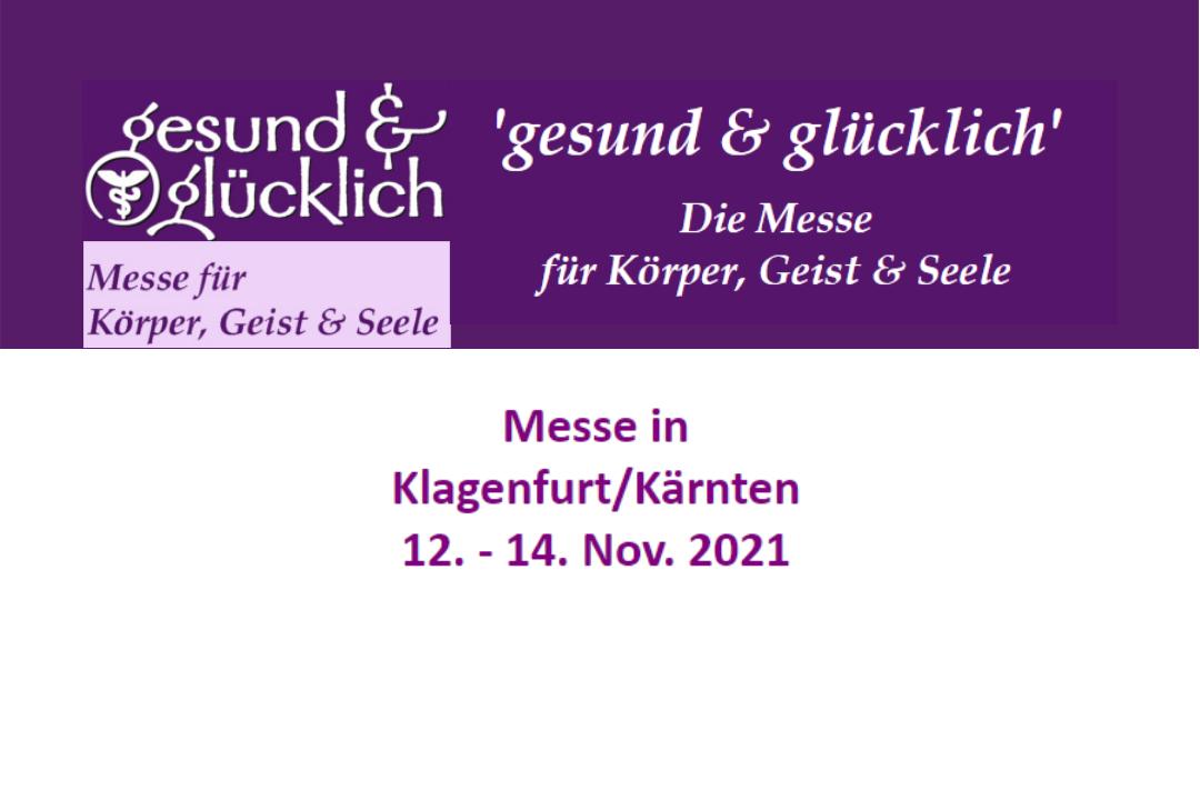 gesund & glücklich - Messe Nov 2021